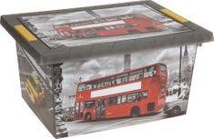 KAISERHOFF Malý box s potiskem Londýna