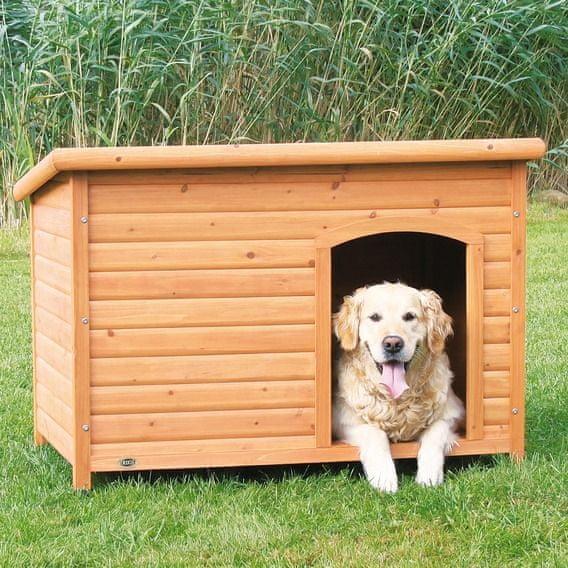 Trixie Bouda pro psa, dřevěná, rovná střecha vel. XL
