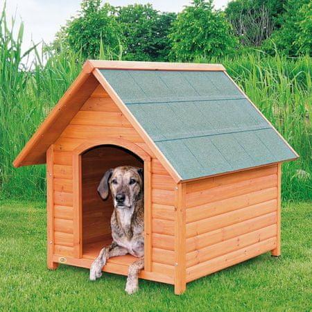 Trixie hišica za pse, lesena, XL