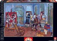 EDUCA Puzzle Atelirer Picassa, 3000 dielikov
