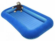 Kampa napihljiva postelja Airlock Junior, modra