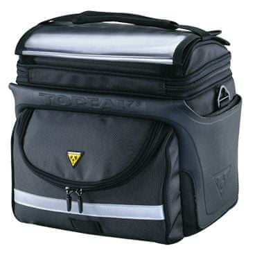 TOPEAK TourGuide Handle Bar Bag DX czarna 7,7 L