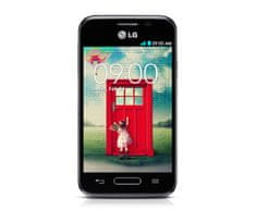 LG L40, D160, 4 GB, čierna