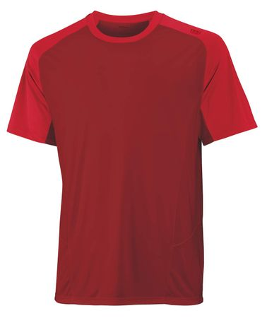 Wilson M Solana ColorBlock Crew Terra Red XL