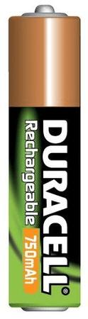 Duracell Polnilna baterija HR03/AAA/750 mAh (B2)