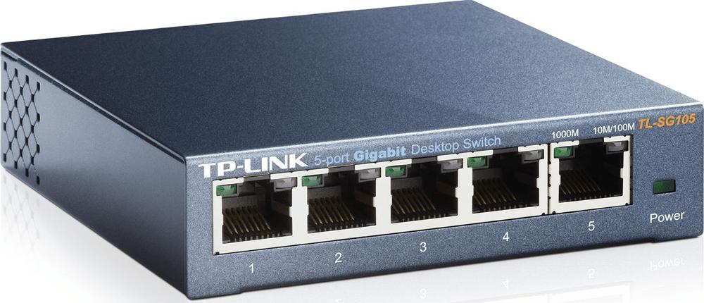 TP-Link TL-SG105, 5x 10/100/1000Mbps Switch