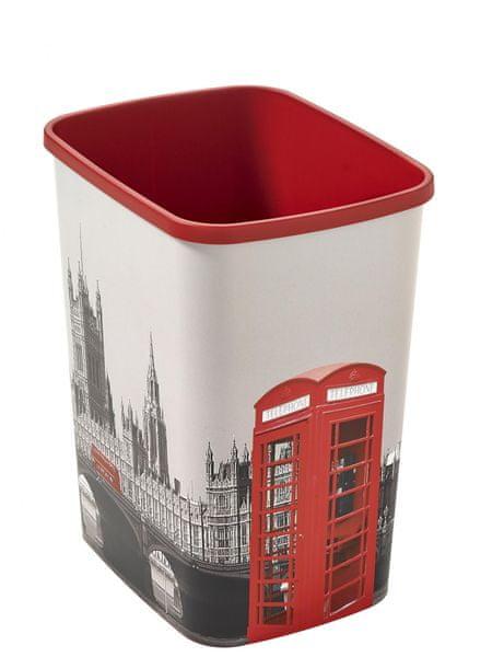 Curver Odpadkový koš Flipbin LONDON 02174-L12 25l