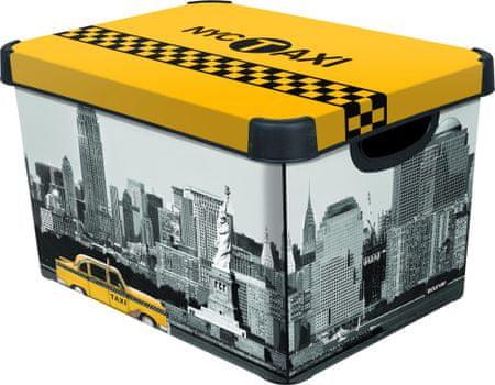 Curver Dekorativní úložný box New York 25 l