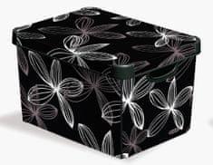 CURVER Virágok Tároló doboz, L