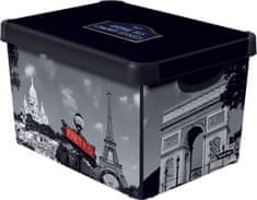 CURVER Párizs Tároló doboz, L