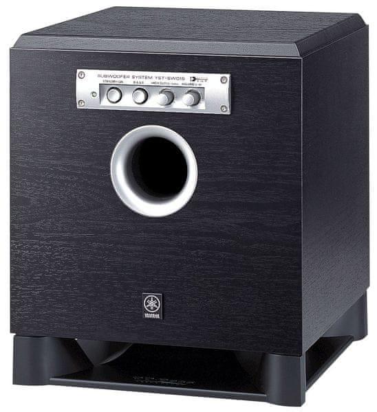 Yamaha YST-SW015, černý klavírní lak