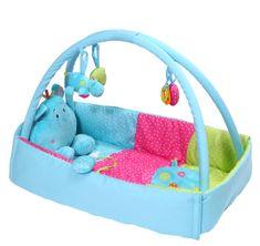 BabyOno Mata edukacyjna Hippo 495 składana
