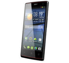 Acer Liquid E3, černý