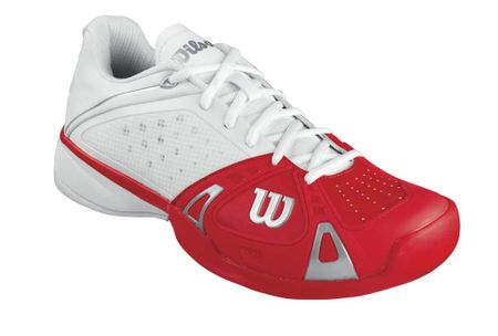 Wilson Rush Pro HC White/Red/White 7,5 (41,3)
