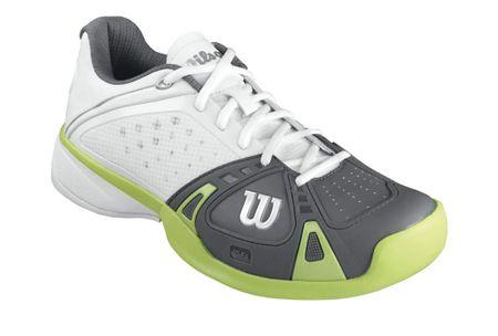 Wilson Rush Pro HC White/Graphite W/Green Glow 7,5 (41,3)