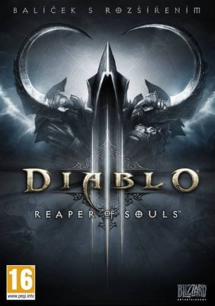 Blizzard Diablo III Reaper of Souls Cz / PC