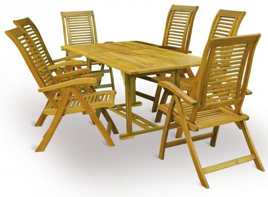 V-Garden Zahradní stůl King set 1 ks