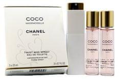Chanel Zestaw Mademoiselle EDT - 3 x 20 ml