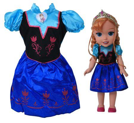 Rubie s Ľadové kráľovstvo - princezná Anna a detské šaty  349bb403a71