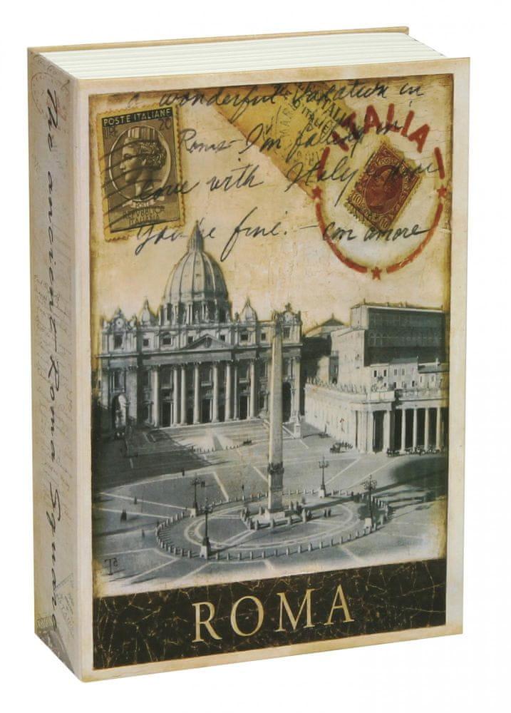 Richter Czech Bezpečnostná schránka - kniha TS0309 Roma