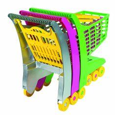 Androni Nákupný vozík zelená