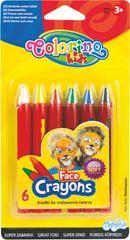 Barvy obličejové Colorino v tužce 6 barev