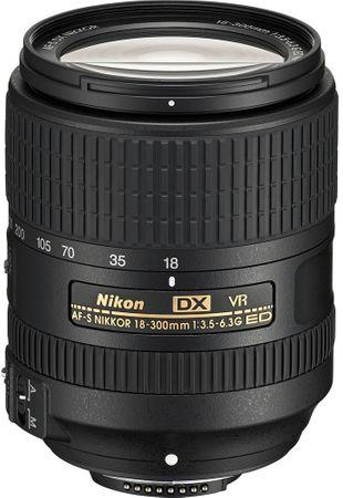 Nikon objektiv AF-S Nikkor 18-300 mm f/3,5-6,3G ED VR
