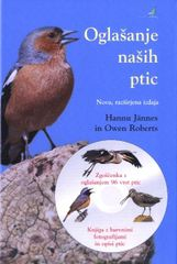 Hannu Jännes, Owen Roberts: Oglašanje naših ptic + cd, trda vezava