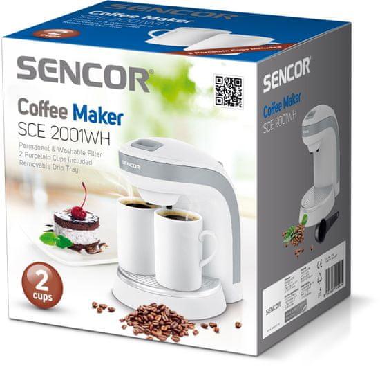 SENCOR aparat za kavu SCE 2001WH