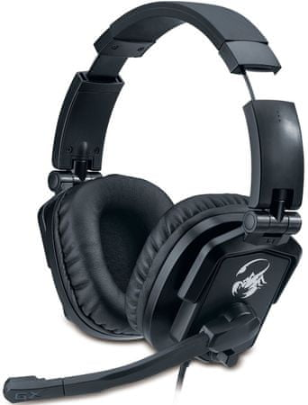 Genius GX zložljive slušalke Lychas HS-G550