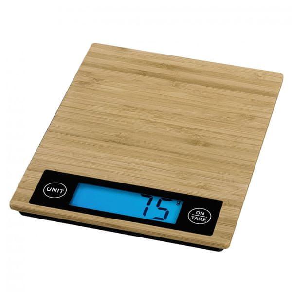 Hama Digitální kuchyňská váha XAVAX Philina, bambusová