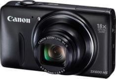 Canon PowerShot SX600 HS černá - II. jakost