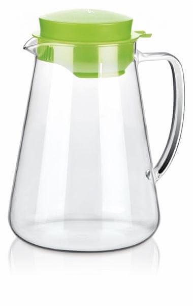 Tescoma Džbán TEO 2,5 l, s odšťavňovačem zelená