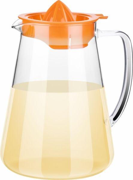 Tescoma Džbán TEO 2,5 l, s odšťavňovačem oranžová