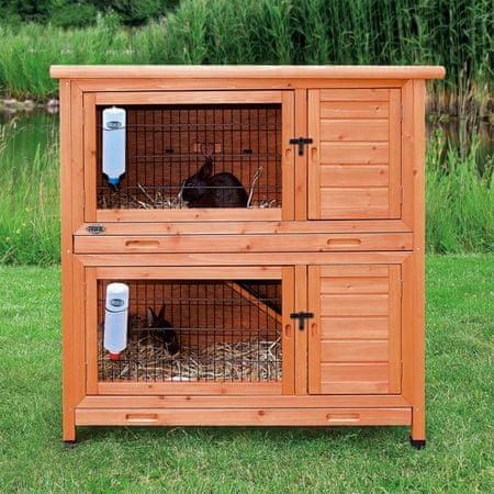 Trixie klatka dla królików - 2 piętra - 116x111x65 cm