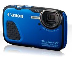 Canon fotoaparat PowerShot D30, moder