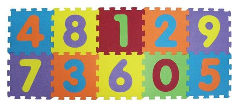 Ludi Puzzle pěnové 140x56 cm čísla