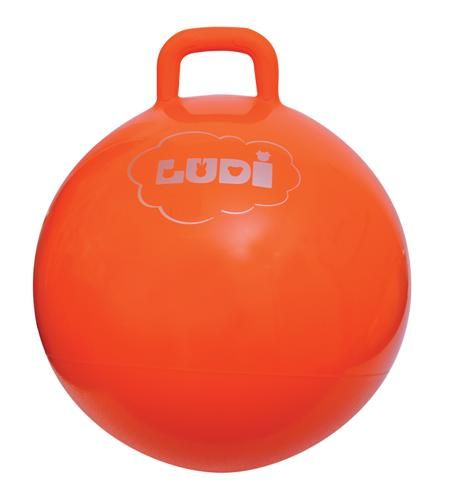 Ludi Skákací míč 55cm oranžový