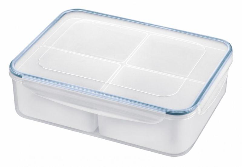 Tescoma Dóza FRESHBOX modrá, 4 misky