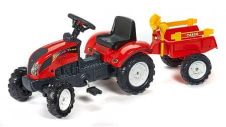 Falk Traktor RanchTrac s prívesom