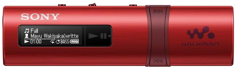 Sony NWZ-B183FR / 4 GB (Red)