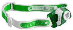 LEDLENSER čelna svetilka SEO3, zelena