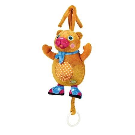 O-oops plišasta igrača Happy Melody medvedek