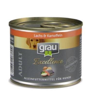 Grau konzerva Excellence losos in krompir, 6 x 200 g