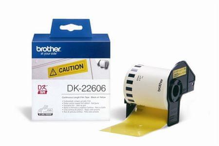 Brother Termalne nalepke Brother DK22606, 62 mm x 15,24 mm