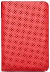 PocketBook ovitek Dots za 614/623/624/626, sivo-rdeč