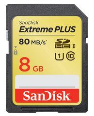Sandisk SDHC 8GB Extreme Plus