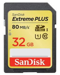 Sandisk SDHC 32GB Extreme Plus