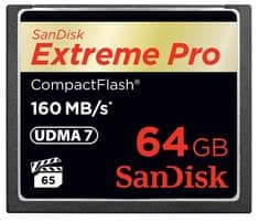 SanDisk Compact Flash Extreme Pro 64 GB