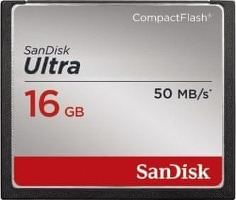 SanDisk Compact Flash 16GB Ultra 50 MB/s